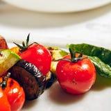 Parrilla Cherry Tomato Fotos de archivo libres de regalías