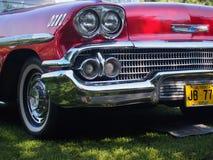 Parrilla clásica restaurada de Chevrolet Fotografía de archivo