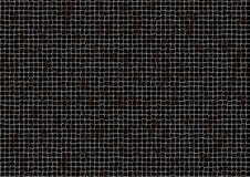 Parrilla de acero oxidada stock de ilustración