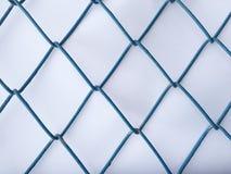 Parrilla de acero, red de acero Fotografía de archivo
