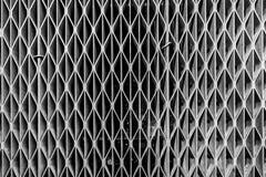 Parrilla de la malla metálica de airvent fotografía de archivo libre de regalías