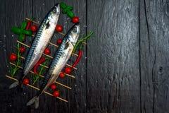 Parrilla de los pescados Fotografía de archivo