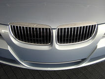 Parrilla de lujo del automóvil imagen de archivo libre de regalías