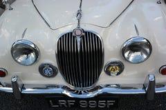 Parrilla del frente del coche de Jaguar Fotos de archivo