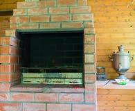 Parrilla del horno Foto de archivo libre de regalías