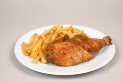 Parrilla del pollo Imagen de archivo libre de regalías