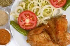 Parrilla del pollo Foto de archivo