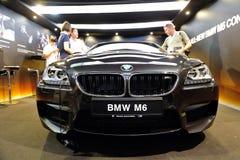 Parrilla del riñón de la firma de BMW M6 Foto de archivo libre de regalías