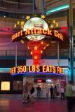 Parrilla Vegas del ataque del corazón Foto de archivo libre de regalías