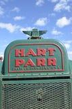 Parrilla vieja del tractor de Hart Parr Imagen de archivo libre de regalías