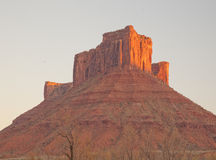 Parriott MESA in Moab, Utah stockfoto
