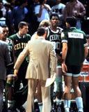 Parrish en McHale, Boston Celtics Royalty-vrije Stock Afbeelding