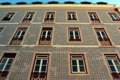 Parrocchia del castello, Lisbona, Portogallo Immagini Stock Libere da Diritti