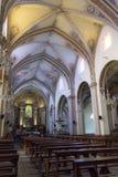 Parrocchia interna del sacramento benedetto in Tandil Immagini Stock Libere da Diritti