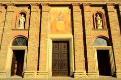 Parrocchia San Francesco, Acqui Terme Stock Photo