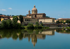 Parrocchia San Frediano in Cestello. Florence, Italy Royalty Free Stock Image