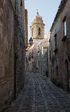 Parrocchia San Michele Arcangelo in Erice, Trapani. Sicily, Italy. Stock Image