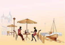 parromantiker Vektor Illustrationer
