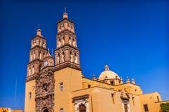 Parroquia大教堂德洛丽丝绅士墨西哥 免版税库存图片