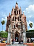 Parroquia bij San Miguel de Allende Royalty-vrije Stock Afbeelding