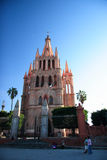 The Parroquia Church of San Miguel de Allende, Guanajuato, Mexico Stock Image