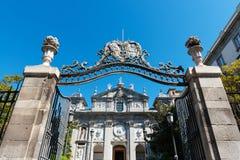 Parroquia de圣塔巴巴拉在马德里 免版税库存照片