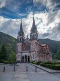 Parroquia de Covadonga en las montañas de Picos de Europa Fotos de archivo libres de regalías