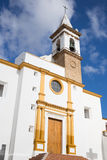 Parroquia de las angustias church in Ayamonte, Andalusia, Spain Stock Photography