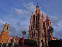 Parroquia de San Miguel Arcangel Arkivfoton