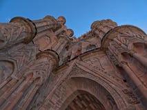 Parroquia de San Miguel Arcangel i San Miguel de Allende, Mexico Arkivfoto