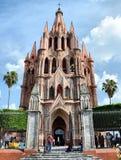 Parroquia przy San Miguel De Allende Obraz Royalty Free