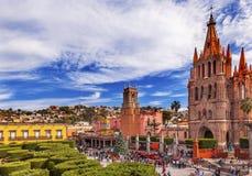 Parroquia Rafael Churches Jardin San Miguel de Allende Mexico