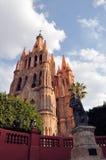 parroquia san allende церков de miguel Стоковое Изображение