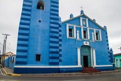 The Parroquial Mayor church in Sancti Spiritus, Cuba. Cuba`s oldest churc. H royalty free stock photography