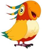 Parrot. Illustration af a smiley parrot