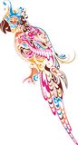 Parrot stock illustration