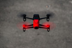Parrot Bebop overhead Royalty Free Stock Images