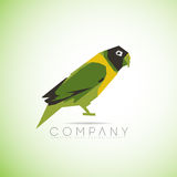 Parrot bird logo Royalty Free Stock Images