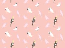 Parrot Cockatiel Corella Cockatoo Wallpaper  Royalty Free Stock Images