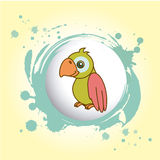 Parrot design Royalty Free Stock Photo