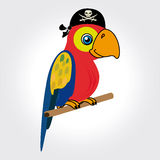 Parrot design Stock Photography