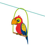 Parrot design Royalty Free Stock Image