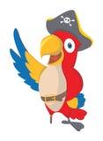 Parrot Pirate Royalty Free Stock Photos