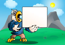 Parrot  sign board Stock Photography