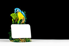 Parrot statue Stock Photo