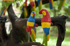 Parrot statue Royalty Free Stock Photography