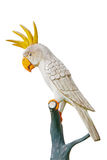 Parrot statue at a resort Stock Image