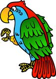 Parrot yellow beak Royalty Free Stock Photography