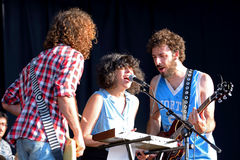 The Parrots (band) performance at FIB Festival Royalty Free Stock Photos