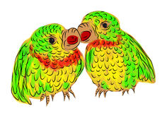 Parrots Royalty Free Stock Photos